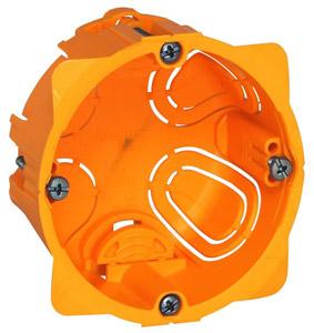 Batibox süllyesztődoboz gipszkartonfalba egyes doboz, 40mm mély
