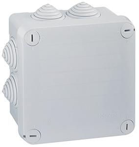 Plexo doboz szögletes 105x105 IP55, 55mm magas