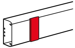 DLP takaróelem 130 mm széles fedélhez