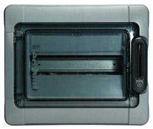 SM Box Plexo3 1*12- mod, terminals, 601981