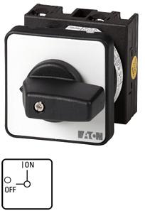 Kézikapcsoló 20A front 3P be-ki IP65