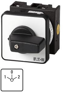 Kézikapcsoló 20A front 3P átk. 1-0-2 IP65