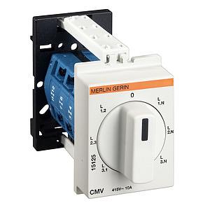 Voltmérő átkapcsoló MULTI9 CMV 3modul/18***