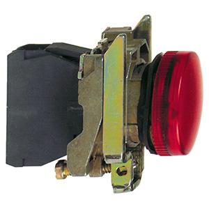 LED-es jelzőlámpa, piros, 24V