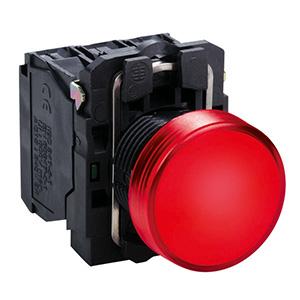 LED-es jelzőlámpa, piros, 230V