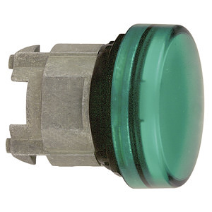 Jelzőlámpafej LED-hez zöld