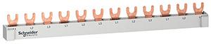 RESI9 gyűjtősín, 3P, 12 osztás