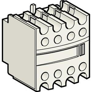 Segédérintkező blokk, homloklapi, 2Z+2NY, EN50012