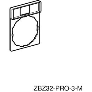 Címketartó, 30x40mm