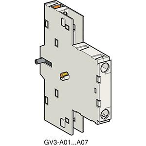 Segédérintkező blokk GV3ME-hez, 1NY+1Z