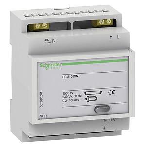 ACTI9 SCU10-DIN dimmer, 1-10V