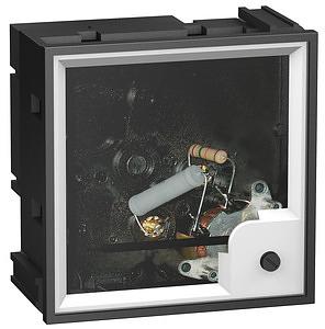 AMP ampermérő 5A alapműszer X/5 96x96 normál leágazáshoz
