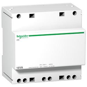 ACTI9 Biztonsági transzformátor 16VA 230VAC 12-24VAC
