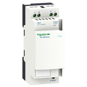 ABL8 tápegység, 1f, 230VAC/24VDC, 0,6A, DIN sínre szerelhető