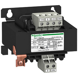 ABT7 Eco transzformátor, 1f, 230/24VAC, 60VA