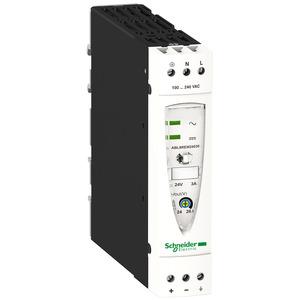 ABL8 tápegység, 1f, 230VAC/24VDC, 3A, DIN sínre szerelhető