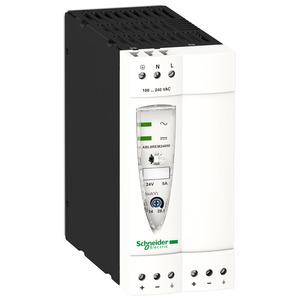 ABL8 tápegység, 1f, 230VAC/24VDC, 5A, DIN sínre szerelhető