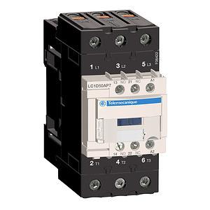 3pólusú Everlink mágneskapcsoló (AC3, 400V 50A), tek. 230V AC 50/60Hz