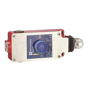 Húzókapcsoló, fémházas, reteszoldás nyomógombbal, max. 15m kábel