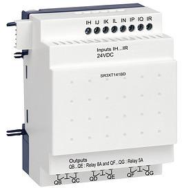 Bővítőmodul, 14 I/O, 24VDC