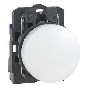 LED-es jelzőlámpa, fehér, 230V