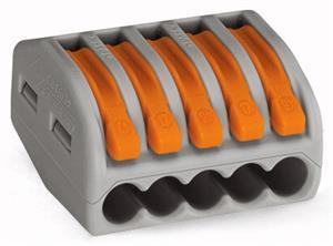 Vezetékösszekötő 5*0.08-4mm2 oldható WAGO