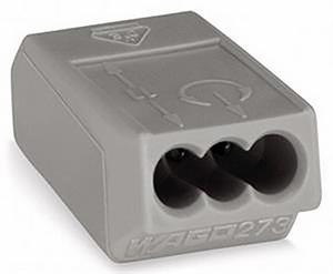 Vezetékösszekötő 3*0.75-1.5mm