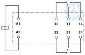 Реле одиночное REL-MR- 24DC/21-21 Phoenix Contact 2961192 купить в интернет-магазине RS24