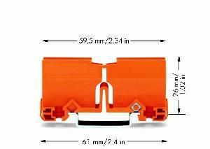 Адаптер монтажный на DIN-рейку WAGO 773-332 купить в интернет-магазине RS24