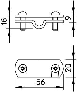 Бирка маркировочная 311 N-VA 16 OBO 3049329 купить в интернет-магазине RS24