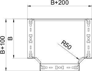 Секция Т-образная 60х300 RTM 630 VA4571 OBO 6041386 купить в интернет-магазине RS24
