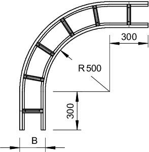 Секция угловая 90град. 110х200 WLB 90 112VA4571 OBO 6312550 купить в интернет-магазине RS24
