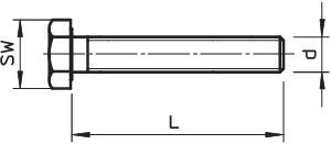 Комплект креп. М8х20 SKS 8х20 F (болт шест/гол.+гайка+шайба) OBO 3158632 купить в интернет-магазине RS24