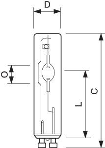 Лампа газоразрядная металлогалогенная MASTERC CDM-Tm Mini 20Вт трубчатая 3000К GU6.5 1CT/12 PHILIPS 928183505130 / 872790089083900 купить в интернет-магазине RS24