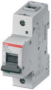 Выключатель автоматический модульный 1п C 125А 25кА S801C ABB 2CCS881001R0844 купить в интернет-магазине RS24