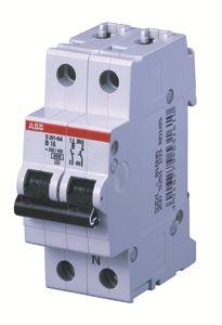 Выключатель автоматический модульный 2п (1P+N) C 16А 6кА S201 ABB 2CDS251103R0164 купить в интернет-магазине RS24