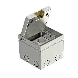 Лючок укомплектованный для монтажа с крышкой GE 2V 15 VO OBO 7368399 купить в интернет-магазине RS24