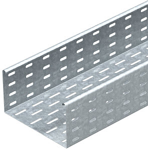 Лоток листовой перфорированный 300х110 L3000 сталь 1мм MKS 130 FT OBO 6060641 купить в интернет-магазине RS24
