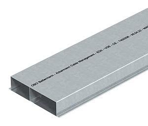 Кабель-канал 350х48 L2000 сталь S3 35048 оцинк. под заливку в бетон EUK OBO 7400344 купить в интернет-магазине RS24