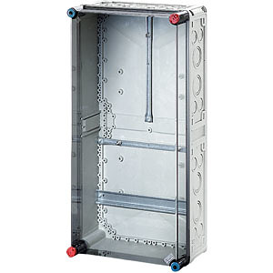 Корпус пластиковый для счетч. Mi 600х300х170 IP65 сер/дым. крышка MI2400 HENSEL 2000080 купить в интернет-магазине RS24
