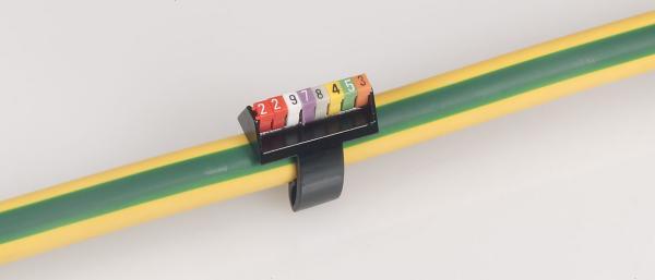 Держатель маркеров на 8 символов черн. для каб. 25-35кв.мм CAB3 Leg 038491 купить в интернет-магазине RS24