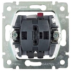 Переключатель на 2 напр. 1кл. PRO21 Leg 775806 купить в интернет-магазине RS24