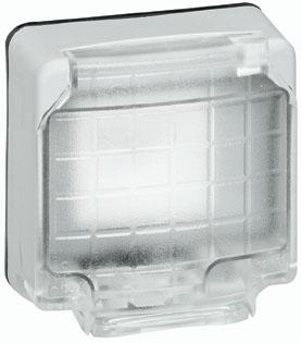 Адаптер для 2мод. с крышкой IP66 Mosaic Leg 090490 купить в интернет-магазине RS24