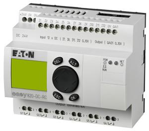 Реле программируемое 24В DC 12 входов 6 выходов реле 1 аналог дисплей + клавиатура EASY820-DC-RC EATON 256271 купить в интернет-магазине RS24