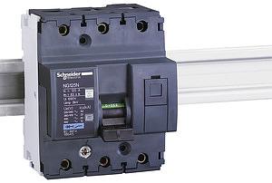 Выключатель автоматический модульный 3п C 10А 25кА NG125N SchE 18632 купить в интернет-магазине RS24