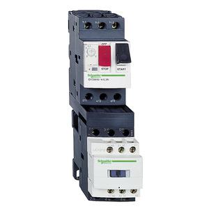 Пускатель комб. 1.6-2.5А цепь управления 24В 50/60Гц SchE GV2DM107B7 купить в интернет-магазине RS24