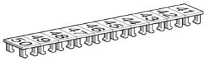 SCHNEIDER ELECTRIC Etiquetas identificadoras para terminales