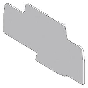 SCHNEIDER ELECTRIC Placa final e intermedia de separación para bornes para guía