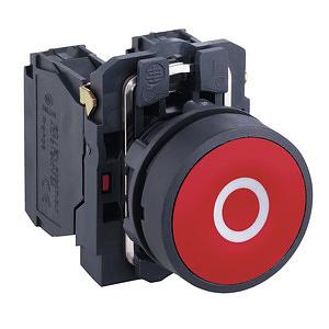 SCHNEIDER ELECTRIC Pulsador completo (incluido bloque de contactos)