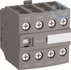 Блок контактный дополнительный CA4-31N (3НО+1НЗ) для контакторов AF09…AF38 и реле NF09…NF38 ABB 1SBN010140R1231 купить в интернет-магазине RS24